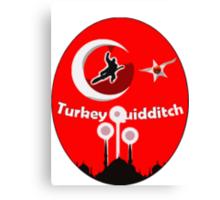 Turkey Quidditch  Canvas Print