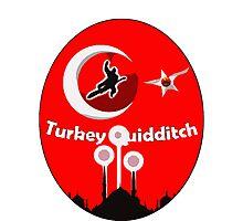 Turkey Quidditch  Photographic Print