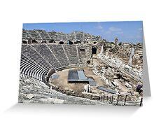 Ampi Theatre Side Turkey Greeting Card