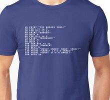 Badger Ad Infinitum - White Text T-Shirt