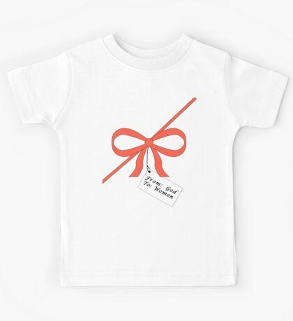 God's Gift To Women Tee Kids Tee