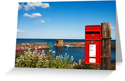Craster By the Sea by Elaine123