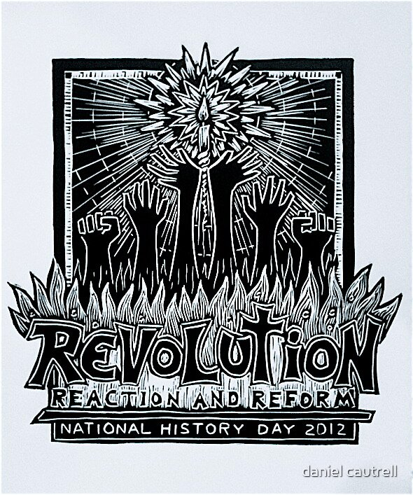 National History Day, T-Shirt Design 2012 by daniel cautrell