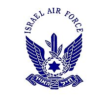 Israel Air Force Logo Photographic Print