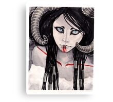 Black Sheep Canvas Print