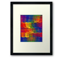 Rainbow Patch Framed Print