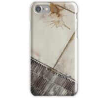 Coffee Spill iPhone Case/Skin