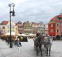 A ride in a coach in Poznan - Poland by Arie Koene
