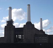 Battersea Power Station -(30/7/12)- digital photo by paulramnora