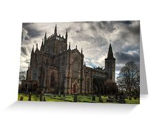 Dunfermline Abbey Church Greeting Card