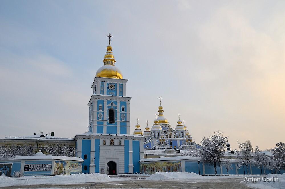 St. Michael's Golden-Domed Monastery by Anton Gorlin