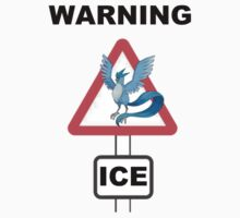 Warning! Articuno Ice! Kids Tee