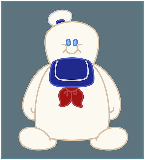 Stay Puft Chibi by mutantninja