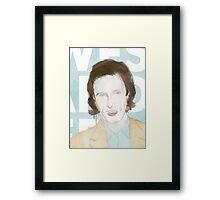 Wes Framed Print