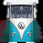 Blue Volkswagen VW iphone 4 4s, iPhone 3Gs, iPod Touch 4g case by www. pointsalestore.com
