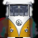 Yellow Volkswagen VW iphone 4 4s, iPhone 3Gs, iPod Touch 4g case by Pointsale store.com