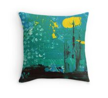City of Industry Throw Pillow