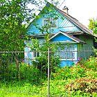 Caribbean Green Dacha at Kartashevskaya by M-EK