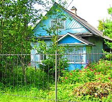 Caribbean Green Dacha at Kartashevskaya by M-EK