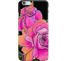 Summer Scent ~ Candy Pink Roses iPhone Case/Skin