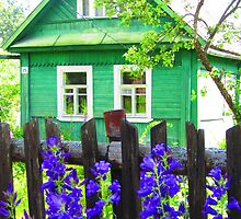 Meadow Green Dacha at Kartashevskaya by M-EK