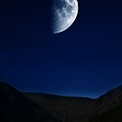 Moon Over The Upper Lake by Denise Ab