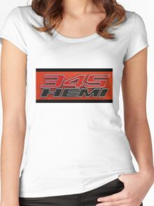 345 HEMI TeeShirt Women's Fitted Scoop T-Shirt