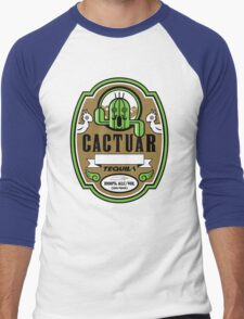 CACTUAR TEQUILA Men's Baseball ¾ T-Shirt