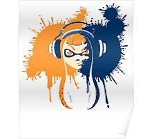 Squid Girl Splash Jam Poster