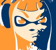 Squid Girl Splash Jam Sticker