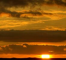 Highland Sunset by Jamie  Green