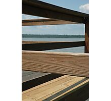 Wooden Lines Photographic Print