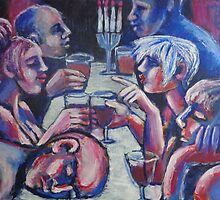 Friends - Late Dinner 2  by CarmenT
