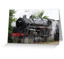 Nene Valley Train Greeting Card