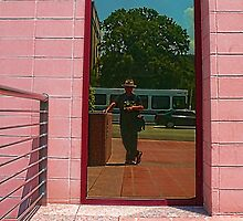 Mano a mano - San Jacinto Garage - Parking - Texas Capitol by Jack McCabe