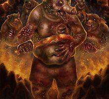 Zombie Pigman by Arjunaale