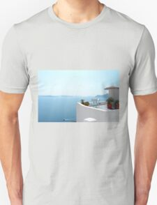 Santorini Caldera from Fira T-Shirt