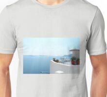 Santorini Caldera from Fira Unisex T-Shirt