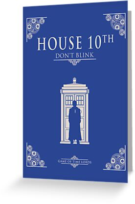 HOUSE 10TH - Poster parody by bomdesignz
