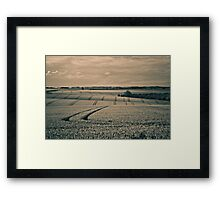 Lincolnshire Wolds Framed Print