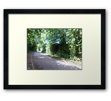 road sceen 2 Framed Print