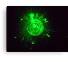 laser light Canvas Print