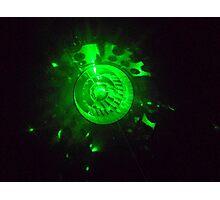laser light Photographic Print