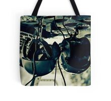 Helicopter Helmets Tote Bag