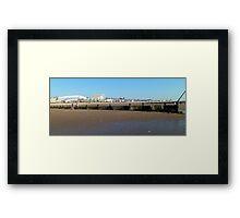 sea side 2 Framed Print