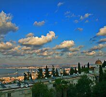 Haifa Bay by Nira Dabush