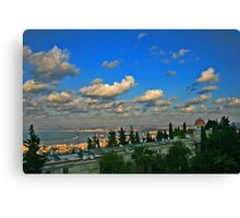 Haifa Bay Canvas Print