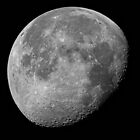 Moon Shot  Waning Gibbous by Bill  Watson