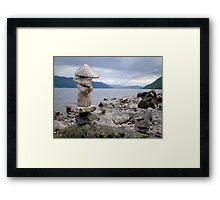 Loch Ness Cairn Framed Print