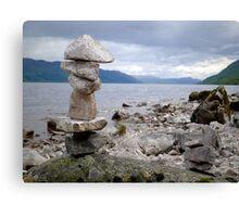 Loch Ness Cairn Canvas Print